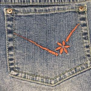 Sigrid Olsen Jeans - 2P SIGRID OLSEN EMB Distressed Jeans.